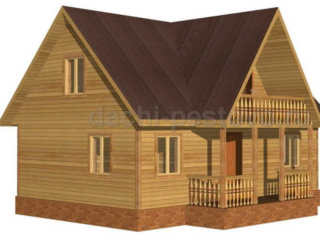 Брусовой дом №46