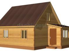 Брусовой дом №47