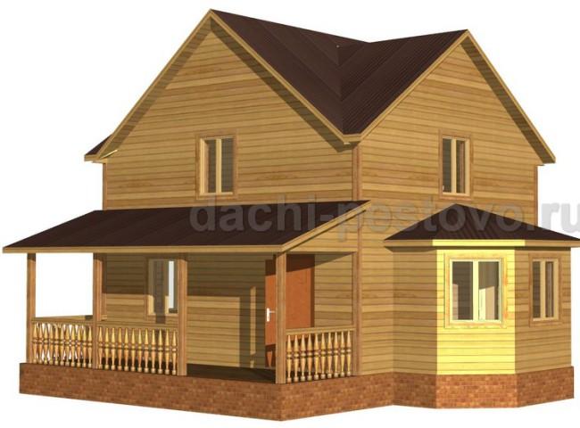Брусовой дом №48