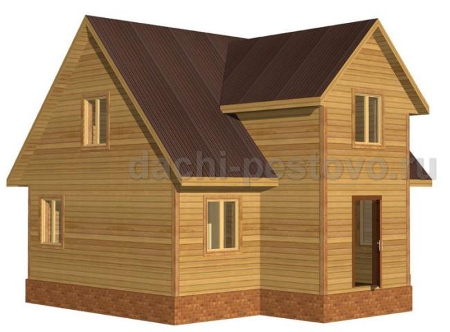 Брусовой дом №49