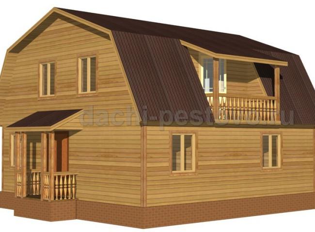 Брусовой дом №51