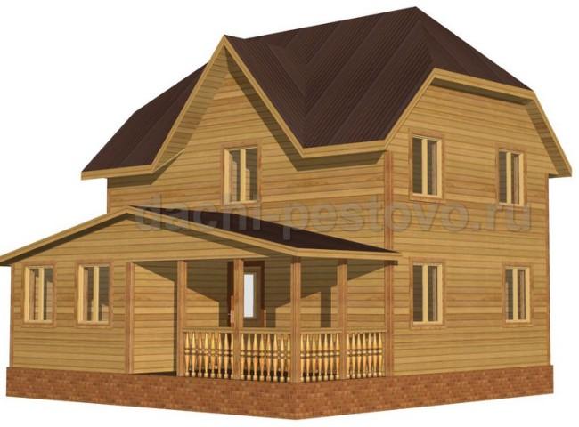 Брусовой дом №53
