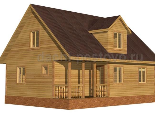 Брусовой дом №56
