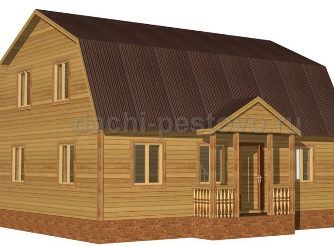 Брусовой дом №58