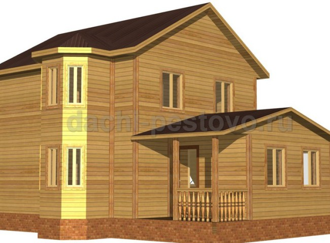Брусовой дом №60
