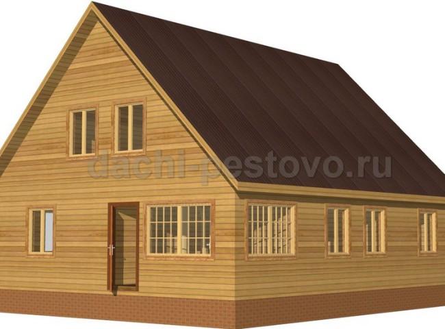 Брусовой дом №62