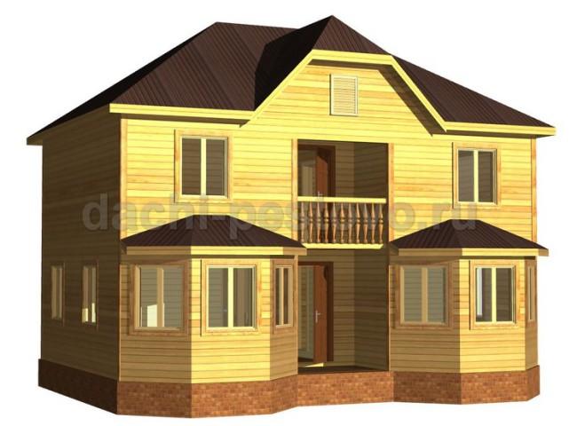 Брусовой дом №63