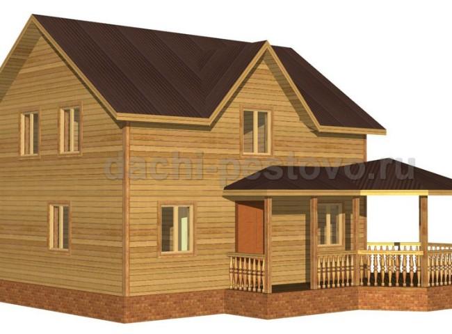 Брусовой дом №66