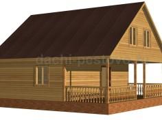 Брусовой дом №69