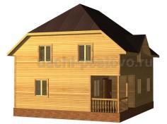 Брусовой дом №70