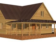 Брусовой дом №71