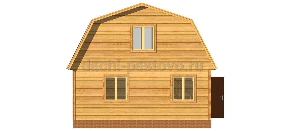 Брусовой дом №20 - Фото 2