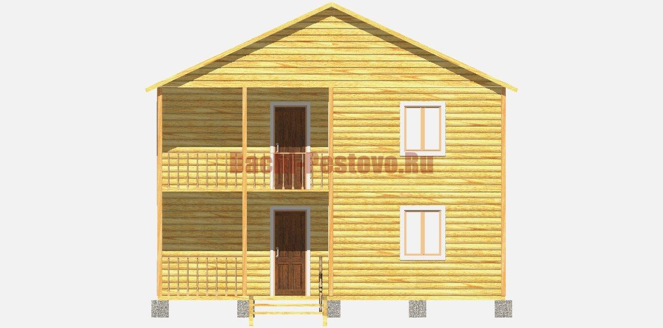 Каркасный дом №28 - Фото 2