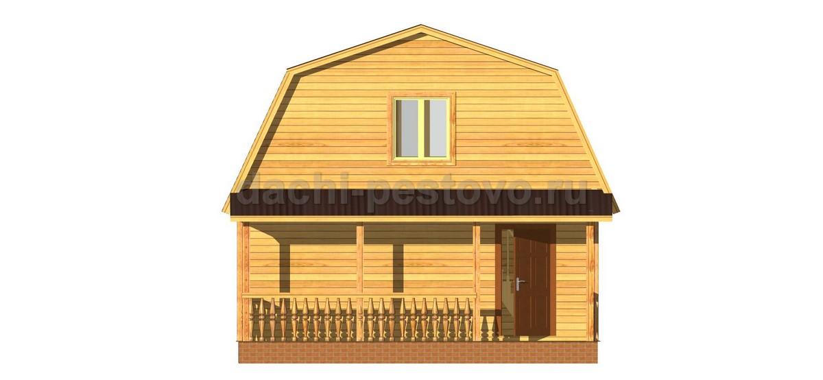 Брусовой дом №21 - Фото 2