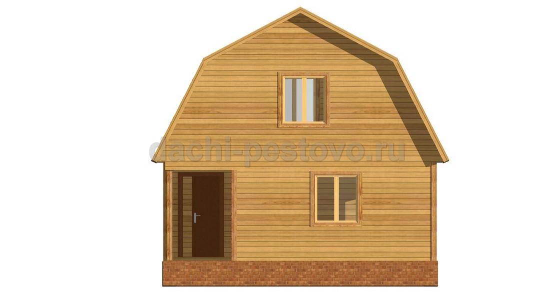 Брусовой дом №25 - Фото 2