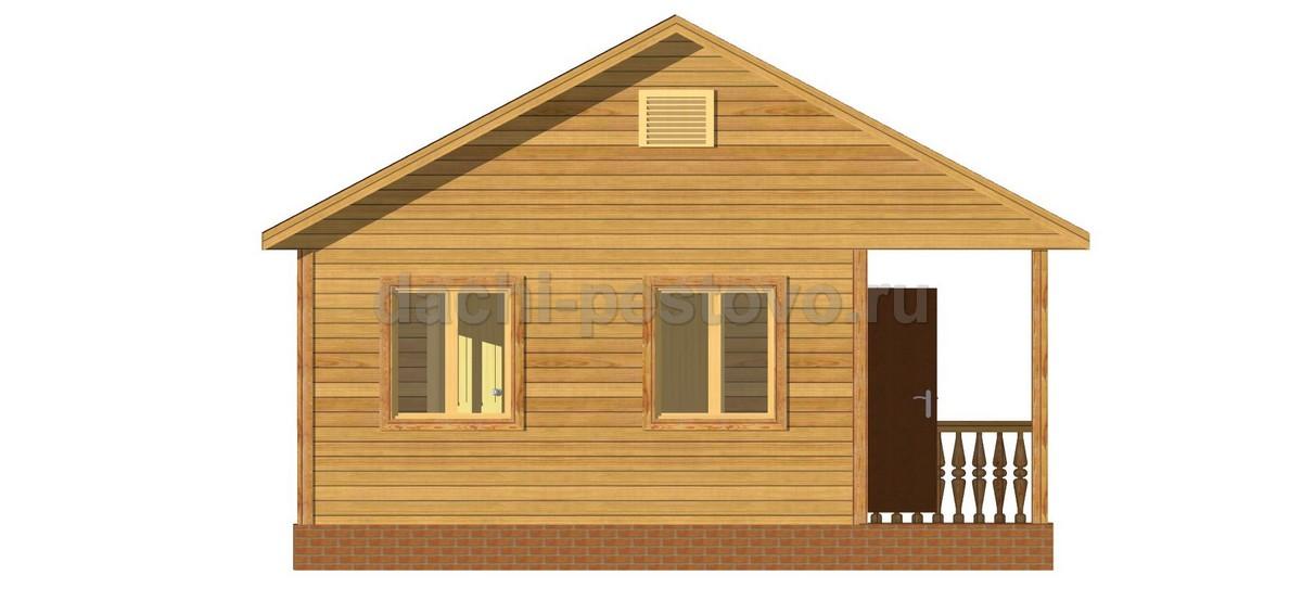 Каркасный дом №5 - Фото 2