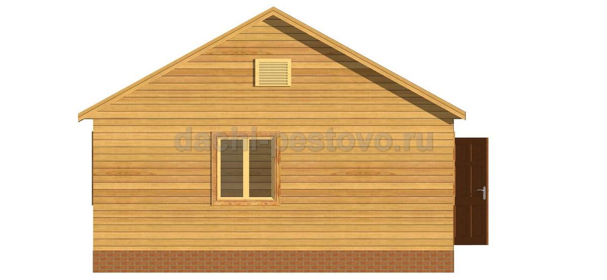 Каркасный дом №6 - Фото 2