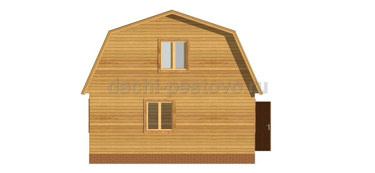 Брусовой дом №14 - Фото 2