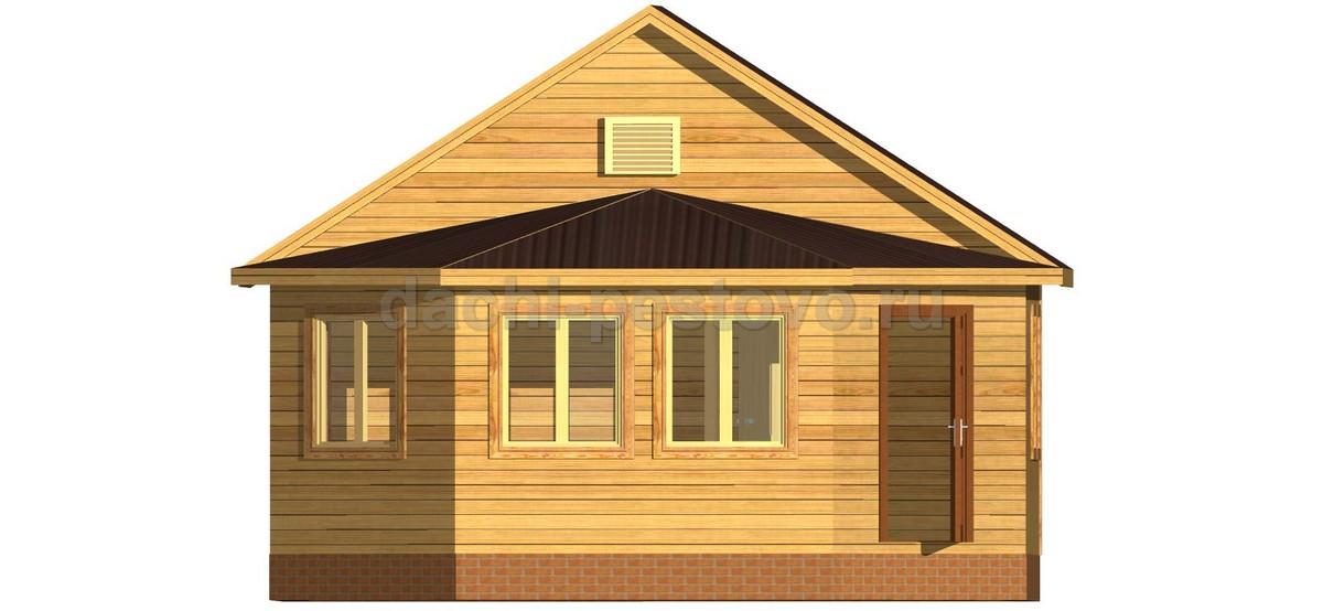 Каркасный дом №8 - Фото 2
