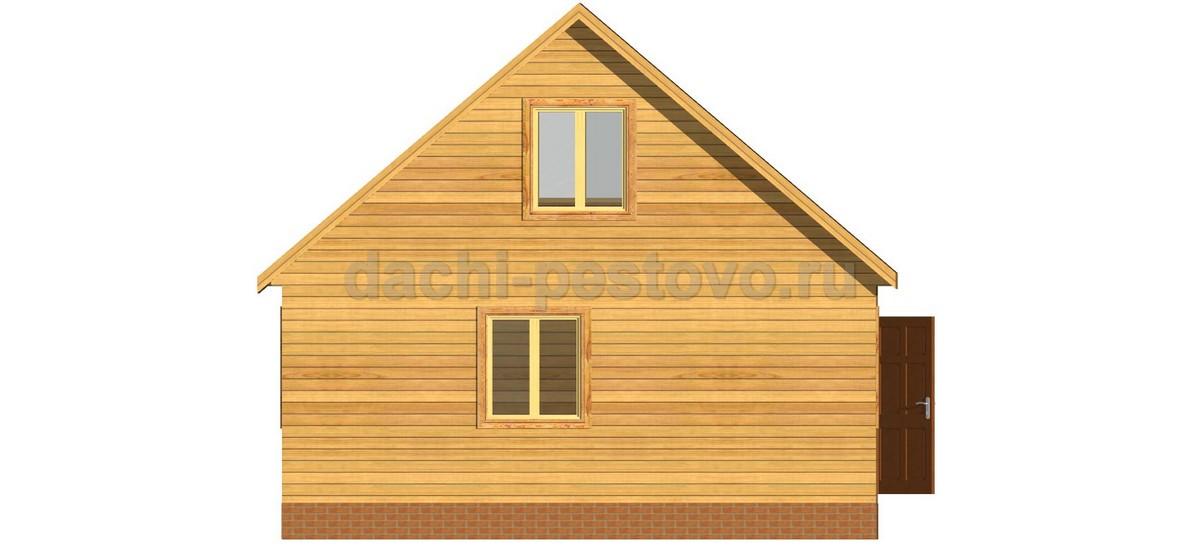 Каркасный дом №16 - Фото 2