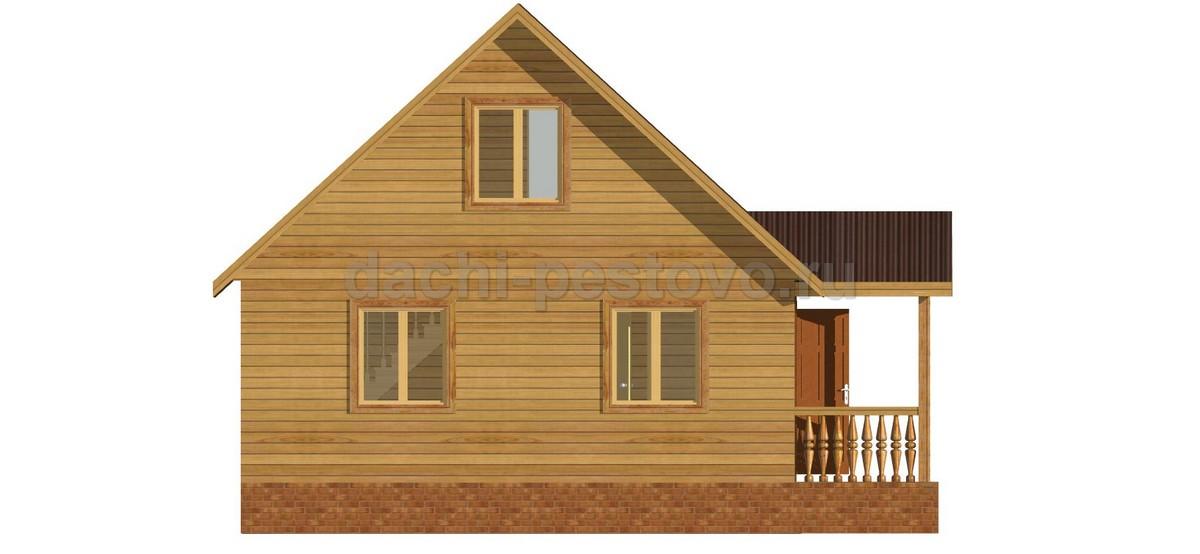 Каркасный дом №22 - Фото 2
