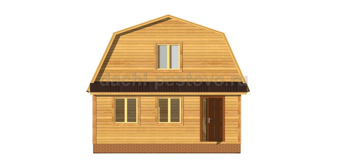 Каркасный дом №23 - Фото 2