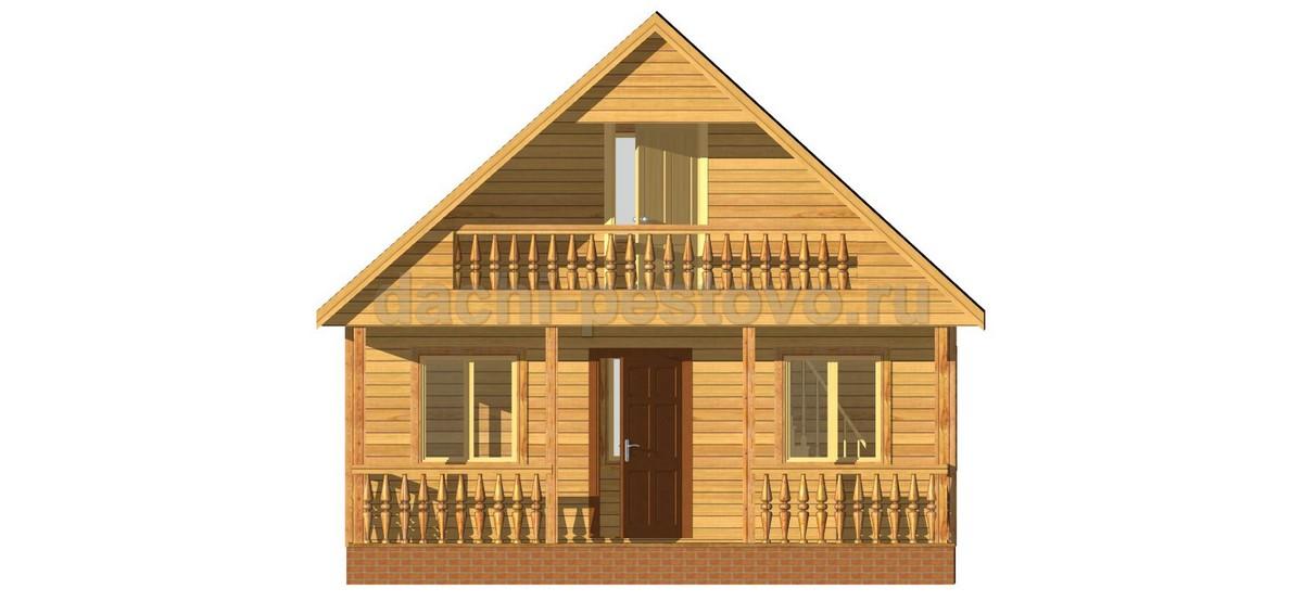 Каркасный дом №24 - Фото 2