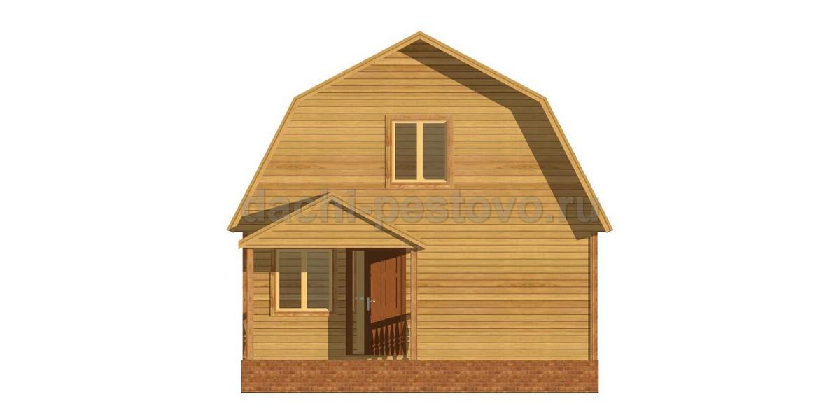 Каркасный дом №30 - Фото 2