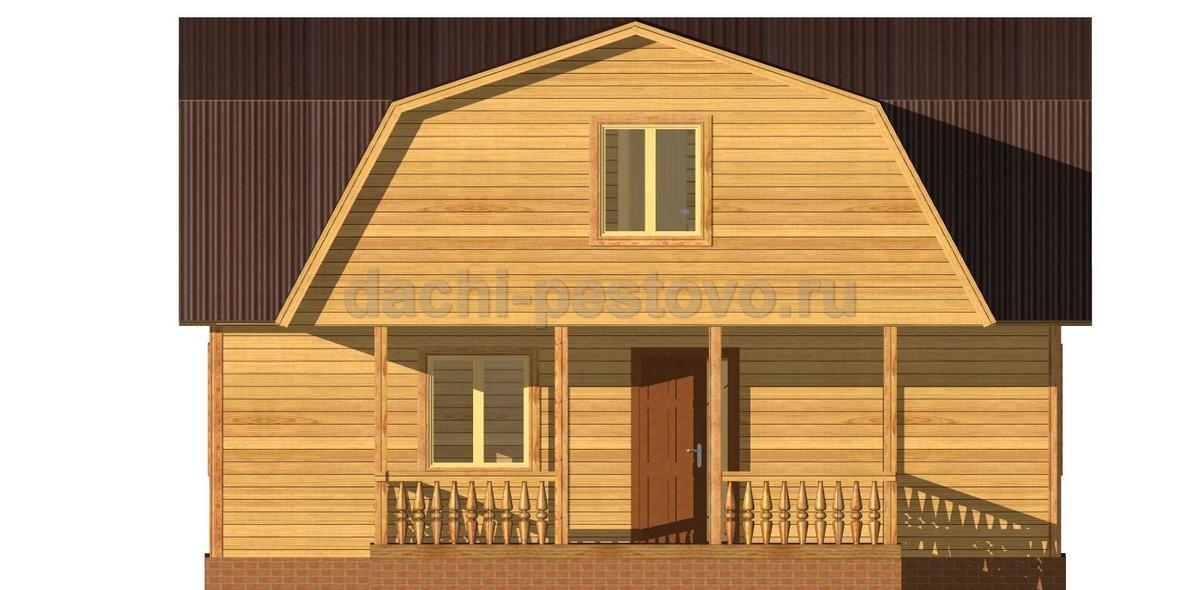 Брусовой дом №32 - Фото 2