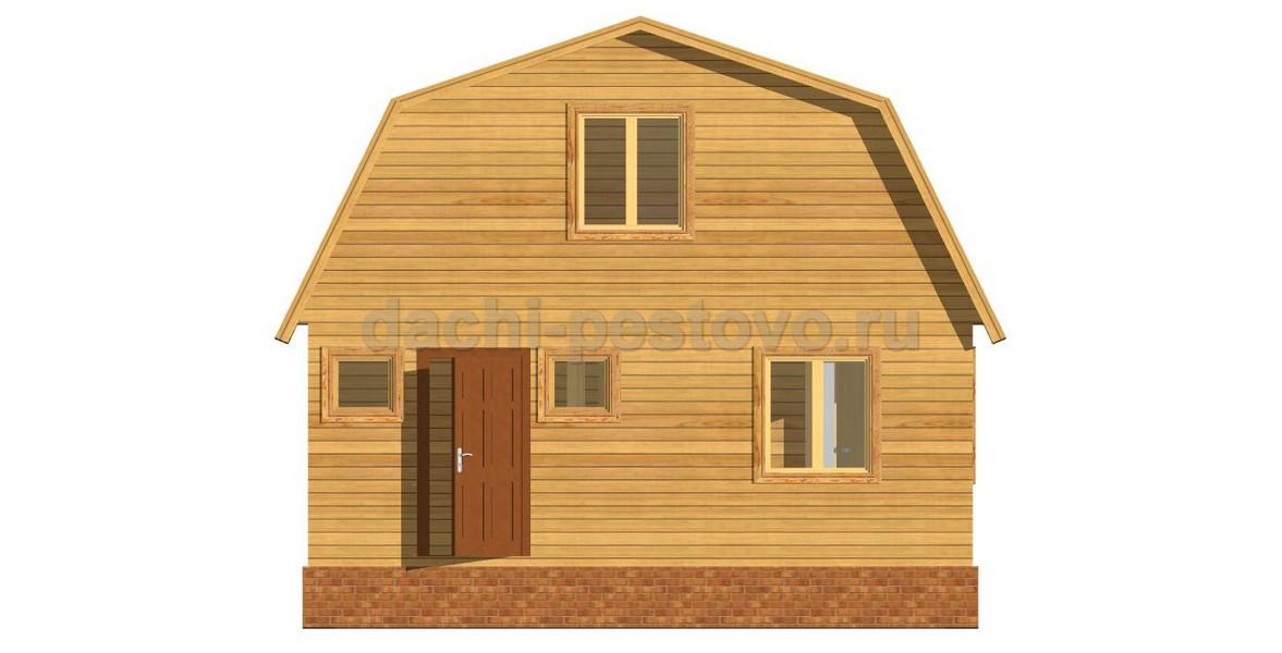 Каркасный дом №37 - Фото 2
