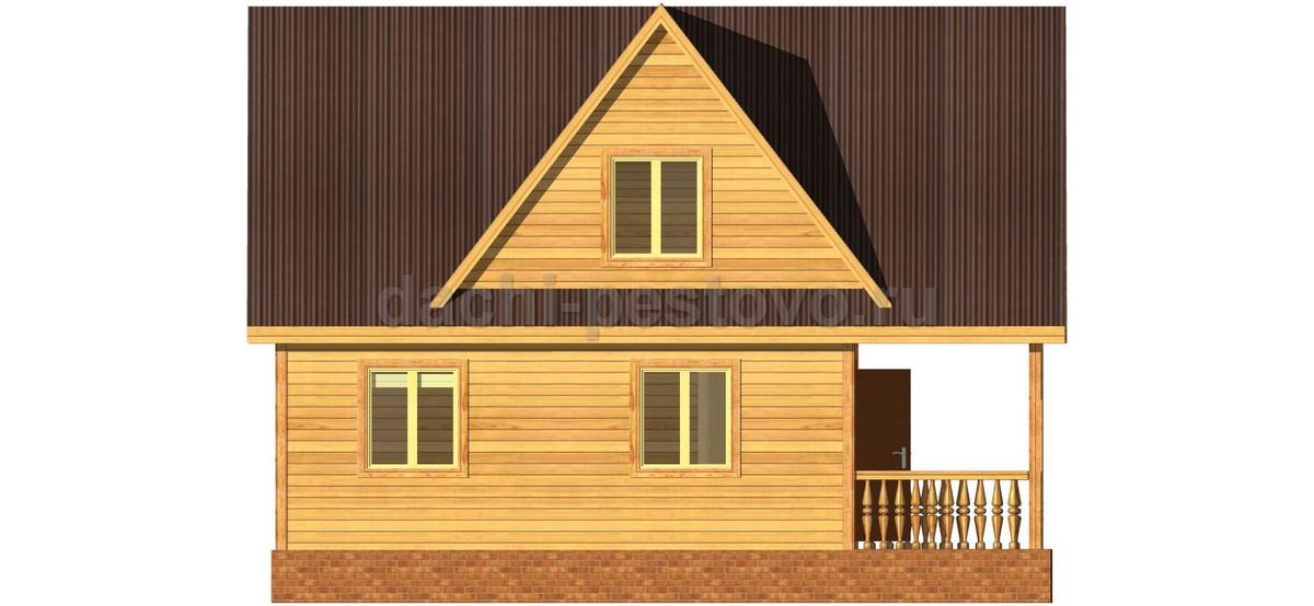 Каркасный дом №42 - Фото 2