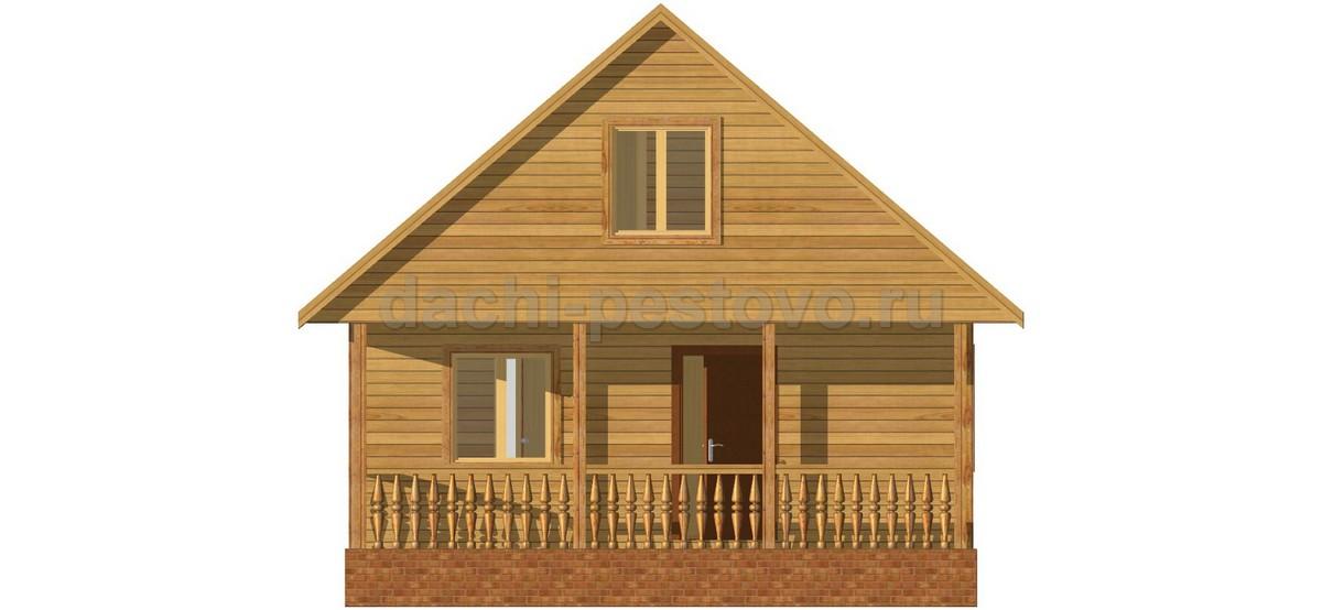 Каркасный дом №43 - Фото 2