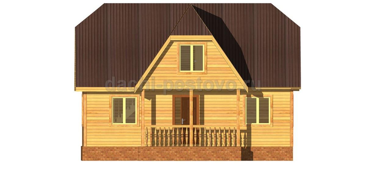 Каркасный дом №45 - Фото 2