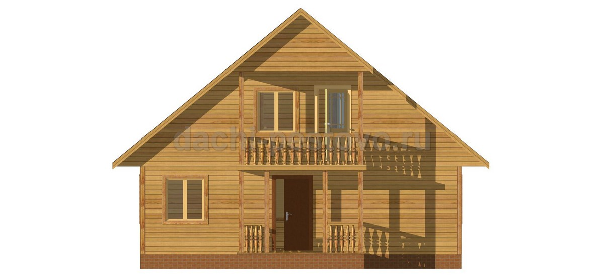 Каркасный дом №50 - Фото 2