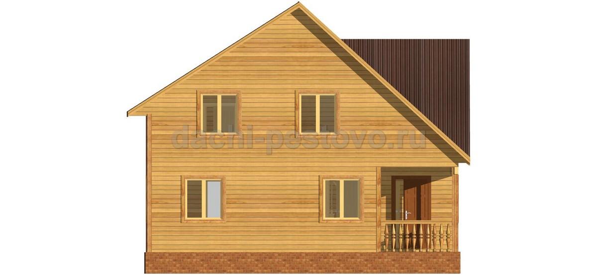 Каркасный дом №52 - Фото 2