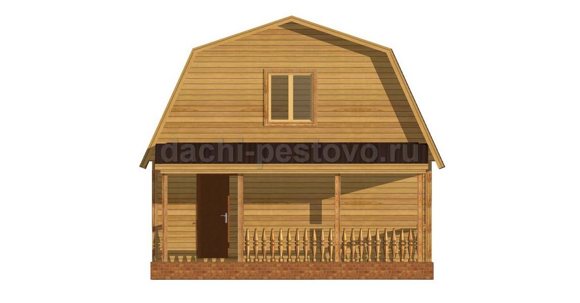 Брусовой дом №34 - Фото 2