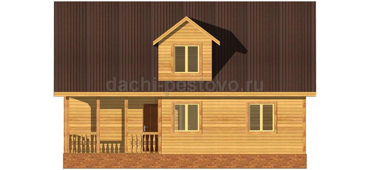 Каркасный дом №56 - Фото 2