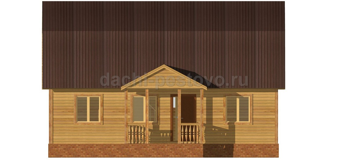 Каркасный дом №58 - Фото 2