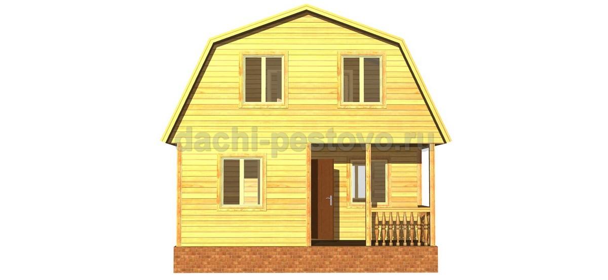 Брусовой дом №35 - Фото 2