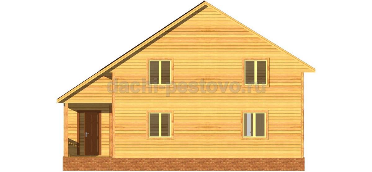 Каркасный дом №67 - Фото 2