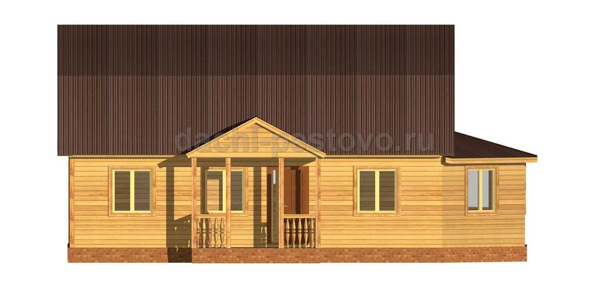 Каркасный дом №68 - Фото 2