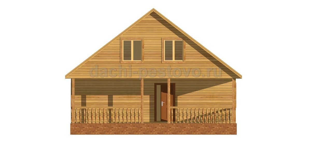 Каркасный дом №69 - Фото 2