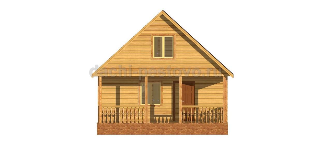 Брусовой дом №36 - Фото 2