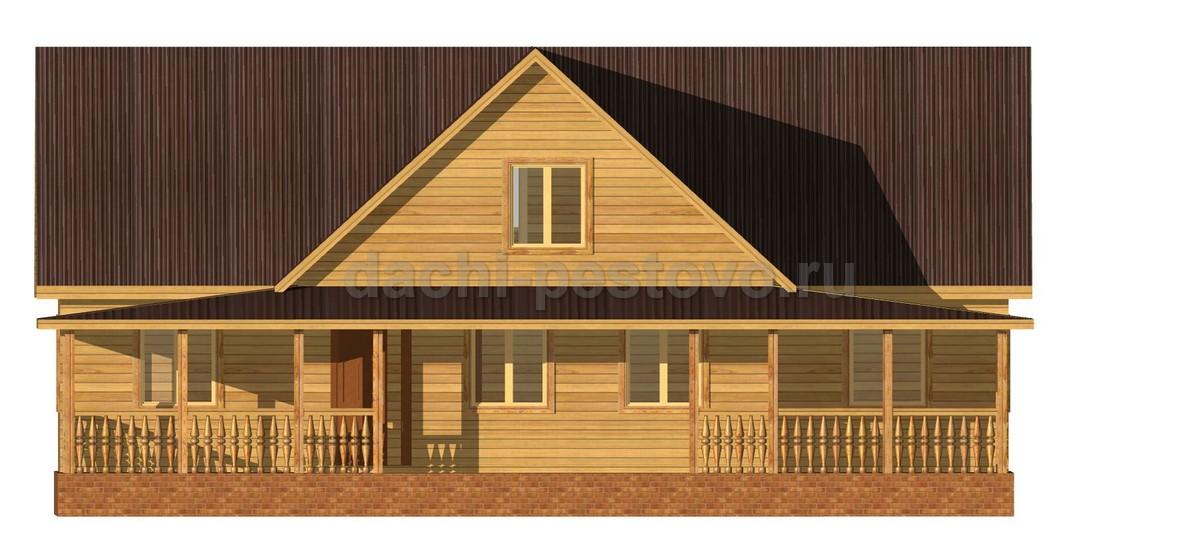 Каркасный дом №71 - Фото 2
