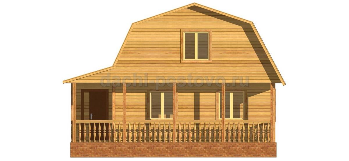 Брусовой дом №38 - Фото 2
