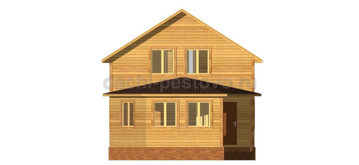 Брусовой дом №40 - Фото 2