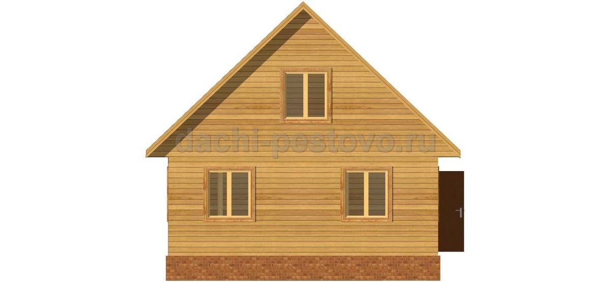 Брусовой дом №44 - Фото 2