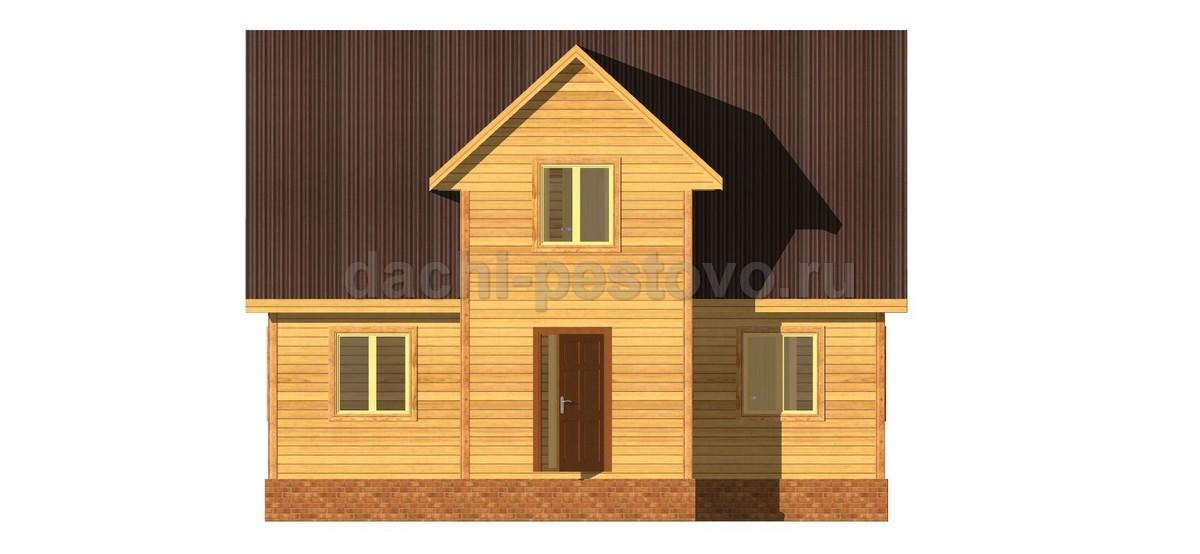 Брусовой дом №49 - Фото 2