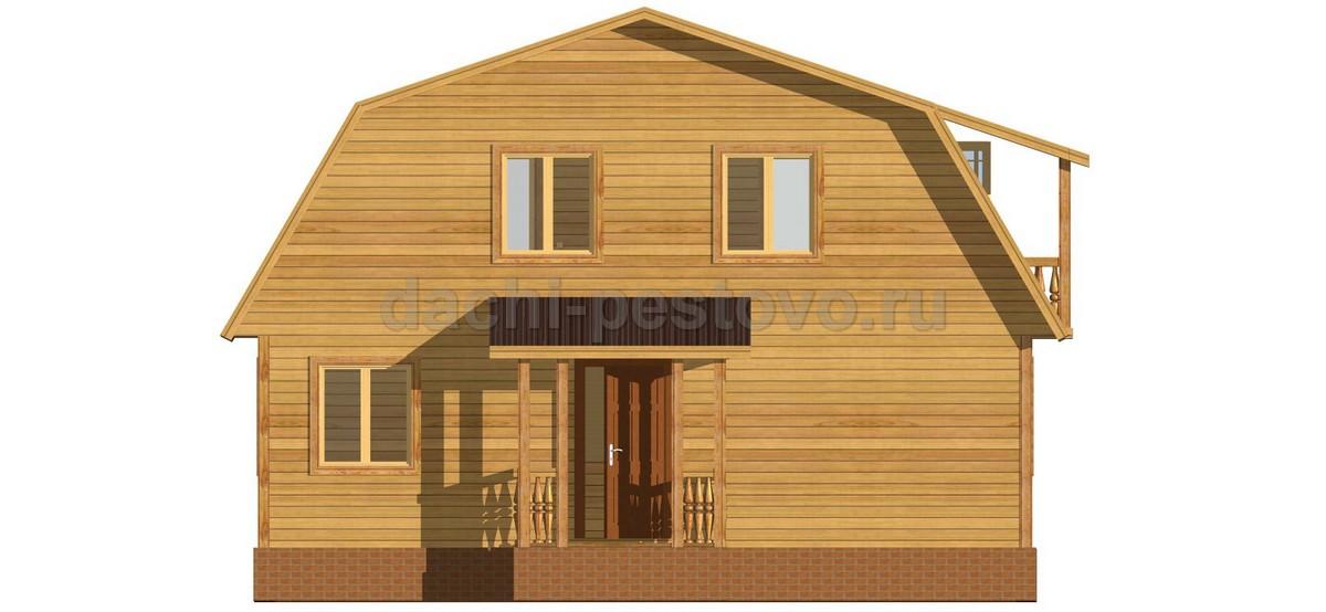 Брусовой дом №51 - Фото 2
