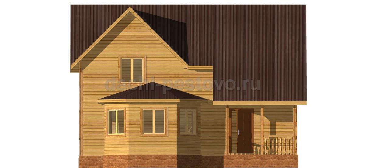 Брусовой дом №57 - Фото 2